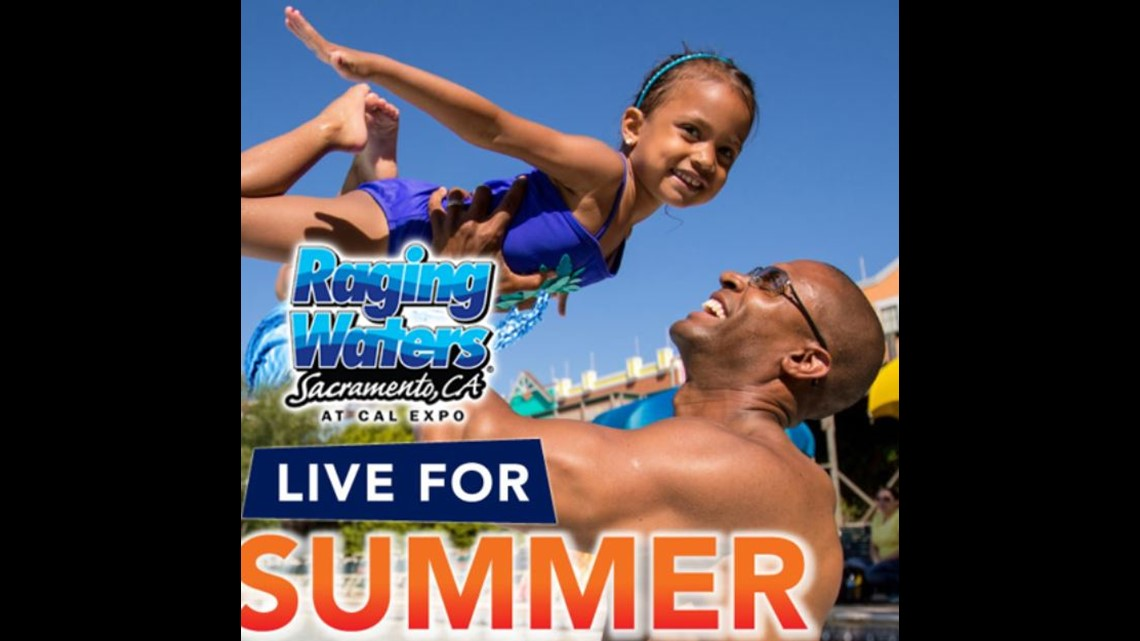 Make a splash at Raging Waters! Enter to win a Family-4-Pack Today!