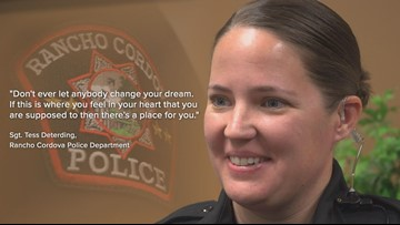 'Don't ever let anybody change your dream' - What International Women's day means to a police Sergeant