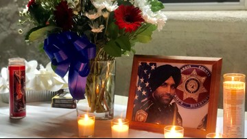 Hughson community remembers Sikh deputy shot and killed in Texas