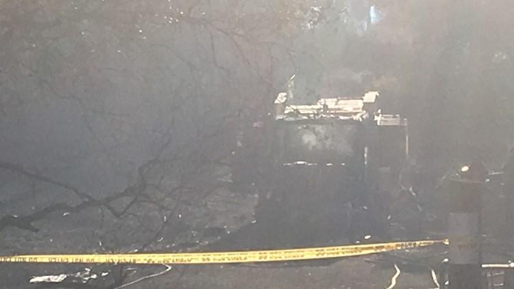 090519 burnt fire truck