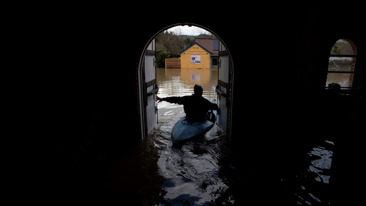 PHOTOS: Russian River  flooding in Northern California