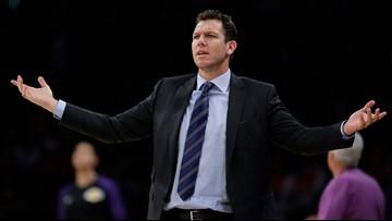 Kings contact Luke Walton to discuss head coaching job after leaving Lakers