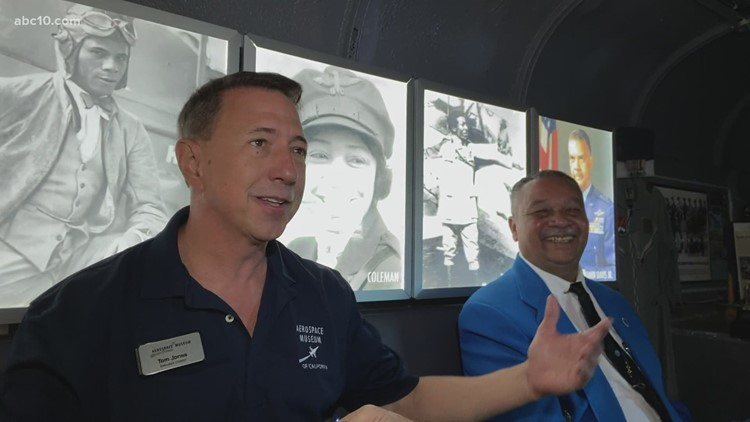 Aerospace Museum of California hosts African Americans in Aviation traveling museum