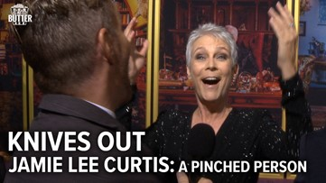 Knives Out: Jamie Lee Curtis is a Pinched Person   Extra Butter Interview