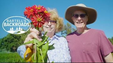 How this local flower field can help you pay it forward