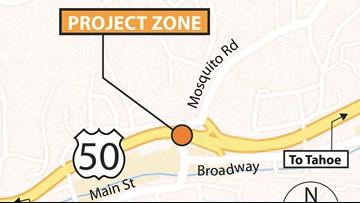 Highway 50 construction work postponed until 2020