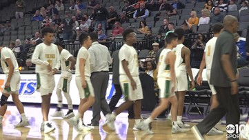 Vanden Vikings beat Central Catholic Raiders 57-41 to claim Sac-Joaquin Section Championship