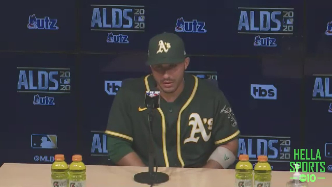 A's CF Ramon Laureano on Oakland coming up short to the Houston Astros in the ALDS