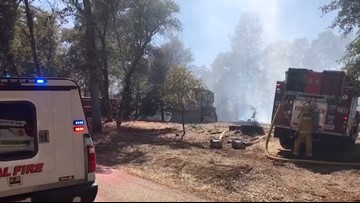 Fire near Highway 49 in Auburn area 100 percent contained