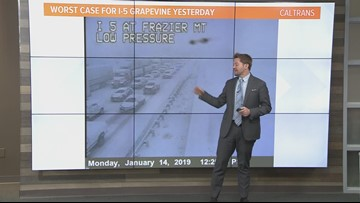 Afternoon Weather: Tuesday, Jan. 15