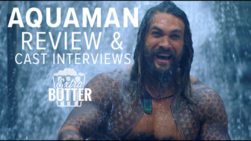 'Aquaman' movie review & cast interviews | Extra Butter