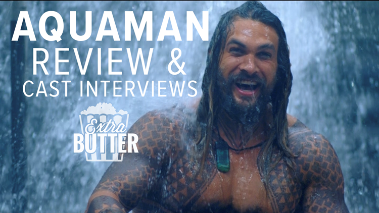 Aquaman Movie Review Cast Interviews Extra Butter Abc10com