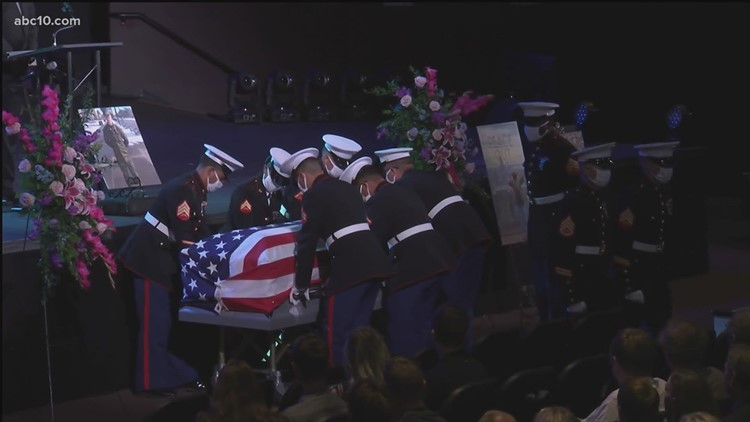 Raw: Sgt. Nicole Gee memorial service (full service)