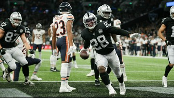 Josh Jacobs rallies Raiders past Bears 24-21 in London