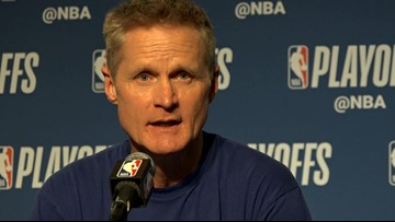 Coach Steve Kerr analyzes Warriors' Game 1 playoff win over Clippers