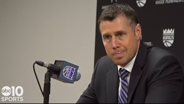 Coach Dave Joerger talks Kings' 28-point collapse, loss to Brooklyn Nets