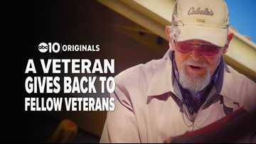 Veteran gives back to fellow vets by helping them stay mobile