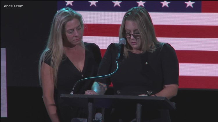 Cheryl Juel, Nicole Gee's aunt, remembers her at memorial service