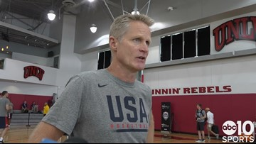 Steve Kerr on Kings players at USA Basketball, has strong words for Mitch McConnell