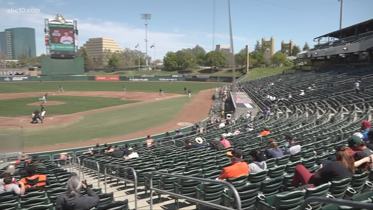 Giants and A's fans return to Sutter Health Park for Alternate Training Site games
