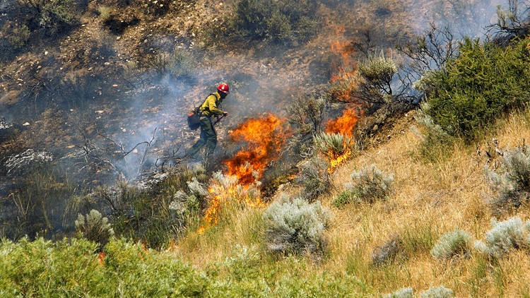 Is it possible to use supersonic sound waves to  put out fires here in California? | Why Guy