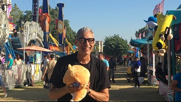 Jeff Goldblum's visit to Turlock's fair airs for the first time on Disney+
