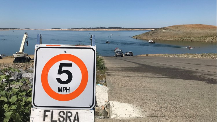 Busy Memorial Day at Folsom Lake despite low water levels, speed limits