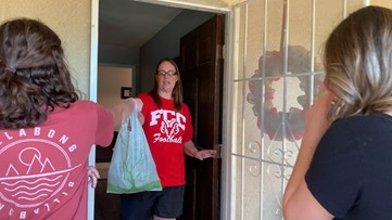 Turlock youth group helping elderly, families in need get groceries during coronavirus pandemic