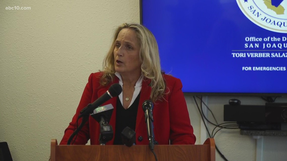 San Joaquin County District Attorney announce charges in police beating case   Raw