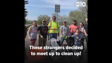 Reddit user pays it forward, makes friends through clean-up day