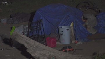 Sacramento City Council expected to discuss law moving homeless away from American River