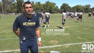 UC Davis QB Jake Maier prepares for home opener, senior season | FULL INTERVIEW