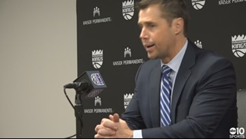 Dave Joerger on Kings win over Thunder, ovation from fans before the game