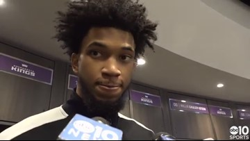 Marvin Bagley talks Kings blowout win over Bulls, chemistry with Harry Giles