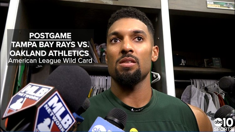 Oakland A's SS Marcus Semien on season-ending loss to Tampa Bay Rays in AL Wild Card