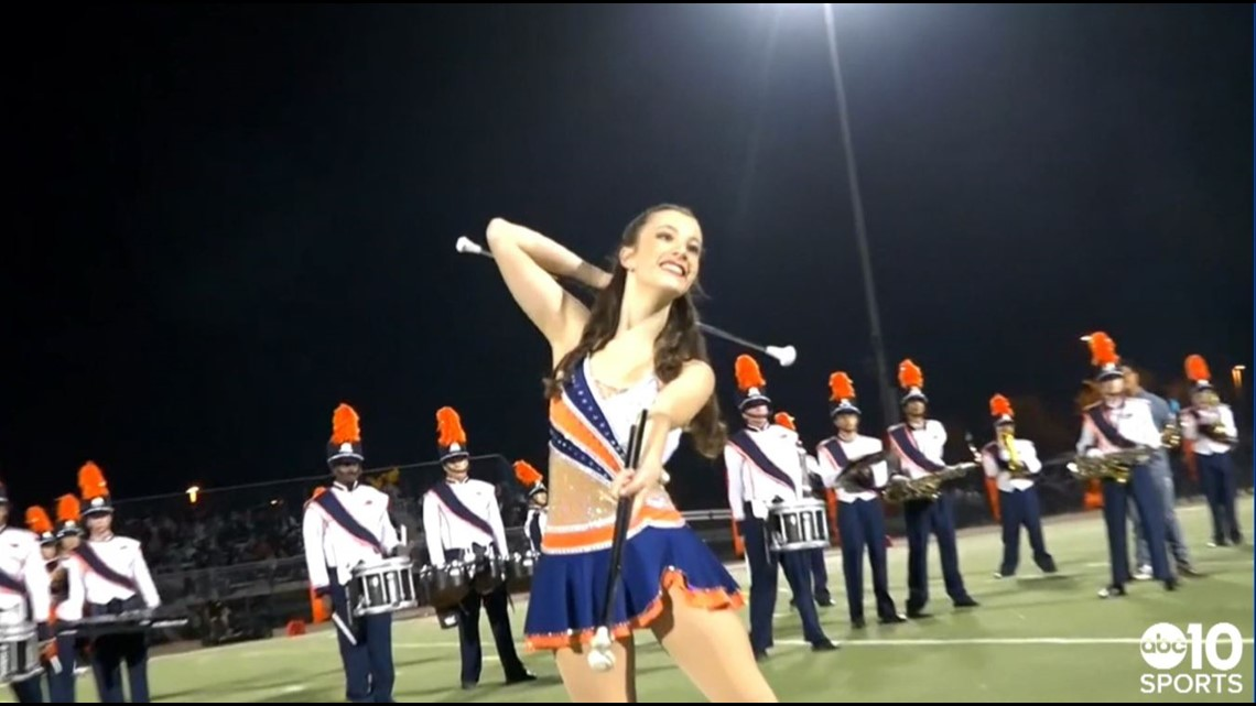 Sports Standout: Cosumnes Oaks High School feature baton twirler Madeline Stiehl