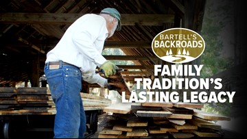 Family tradition keeps steam powered sawmill running for over 120 years | Bartell's Backroads