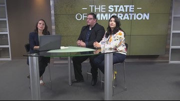 Panel discussion on immigration during President Donald Trump's time in office