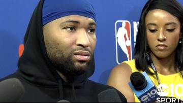 DeMarcus Cousins on Kevin Durant's injury impacting Warriors heading into Game 6 | 2019 NBA Finals
