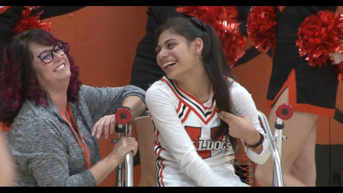 Athletics Unlimited Sports Standout: Vacaville HS special needs cheerleaders