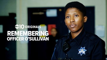 In her uniform: Sacramento Police recruit remembers Tara O'Sullivan