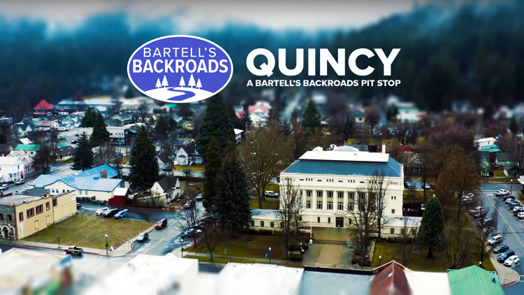 Quincy inspires art while surrounded by the beauty of the Sierra | A Bartell's Backroads Pit Stop