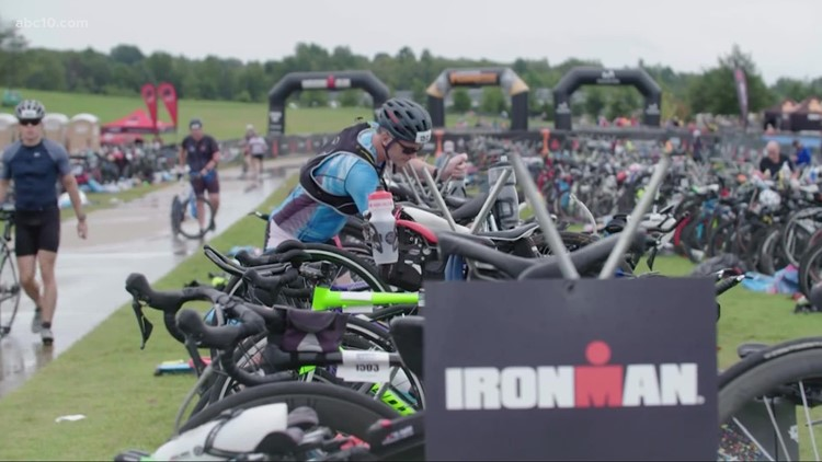 Stormy weather not enough to cancel Sacramento's Ironman race for now