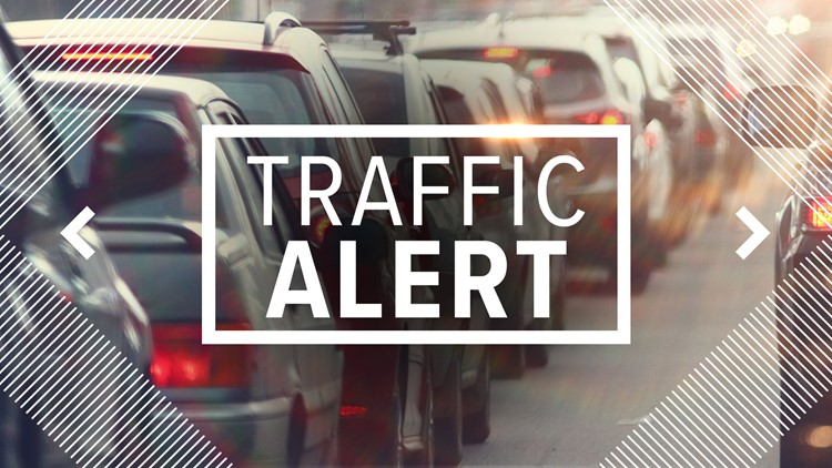 Traffic alert: 55-hour lane closures on Interstate 5
