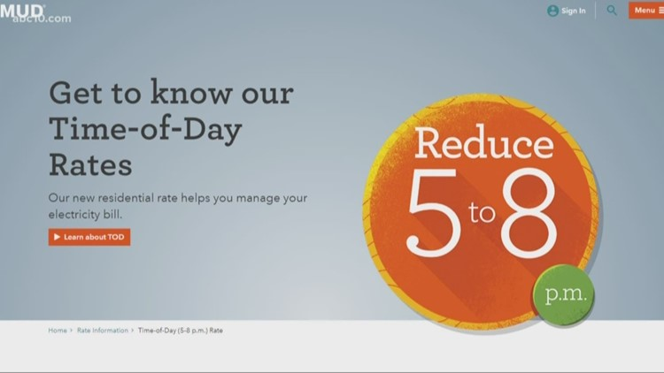 How do SMUD's 'Time-Of-Day' rates work?