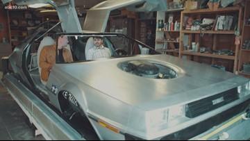 Great Scott! California man selling homemade 'DeLorean' hovercraft ' Bartell's Backroads