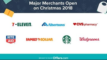 Is Walgreens Open On Christmas.Open On Christmas Here S What Stores Are Open For The