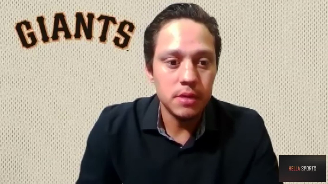 Giants 3B Wilmer Flores explains San Francisco's 9-1 loss to the Los Angeles Dodgers