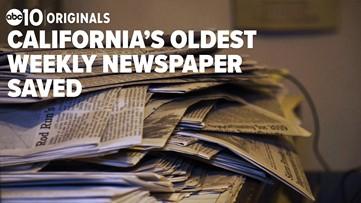 California's oldest weekly newspaper saved