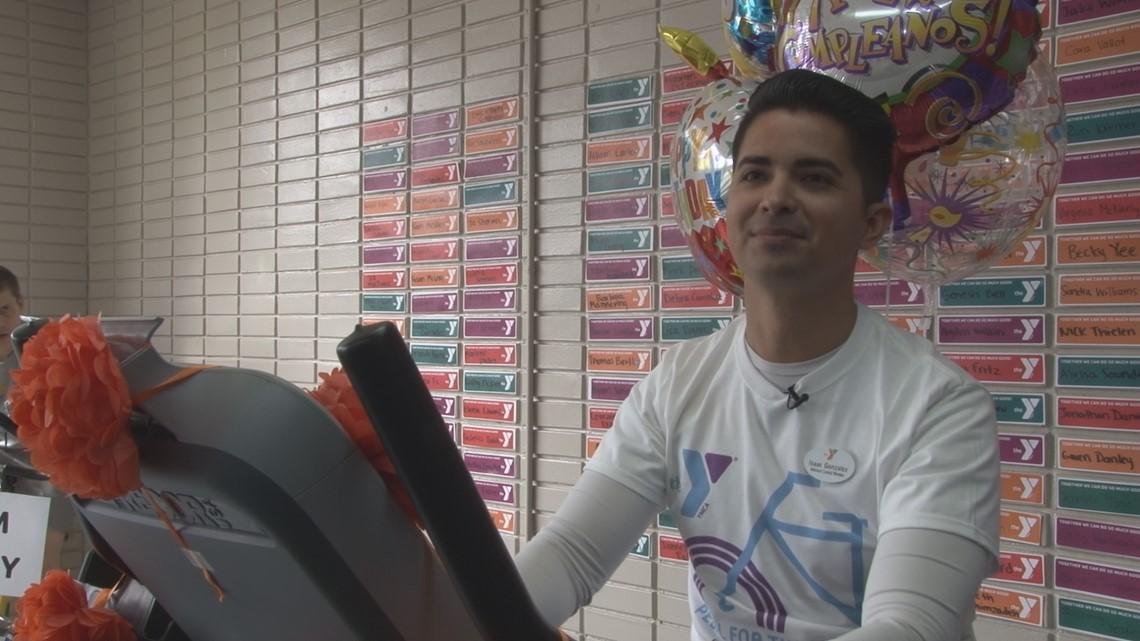 'I ride a bike for 12 hours every year.' | Sacramento man raising money for YMCA